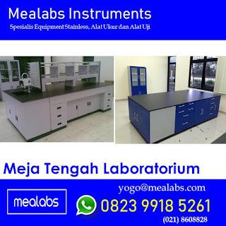 Meja Tengah Laboratorium