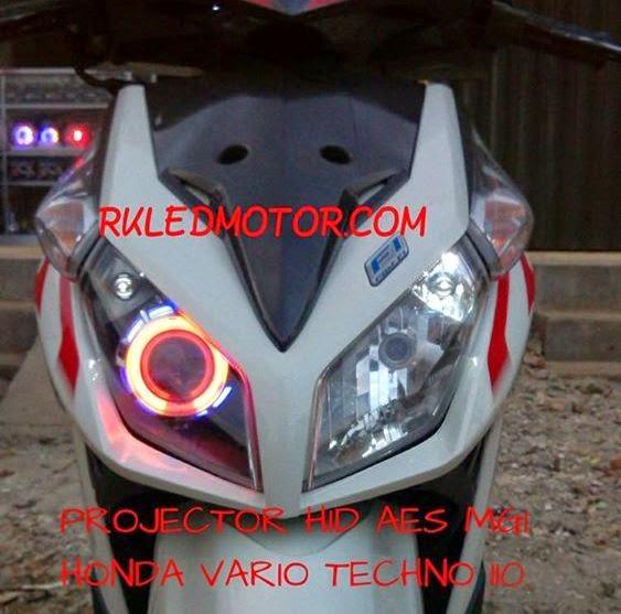 Modifikasi Motor Vario Led 110