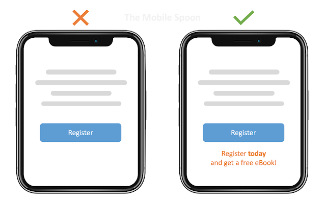 Hyperbolic Discounting - Offer small discounts for an immediate purchase - the mobile spoon