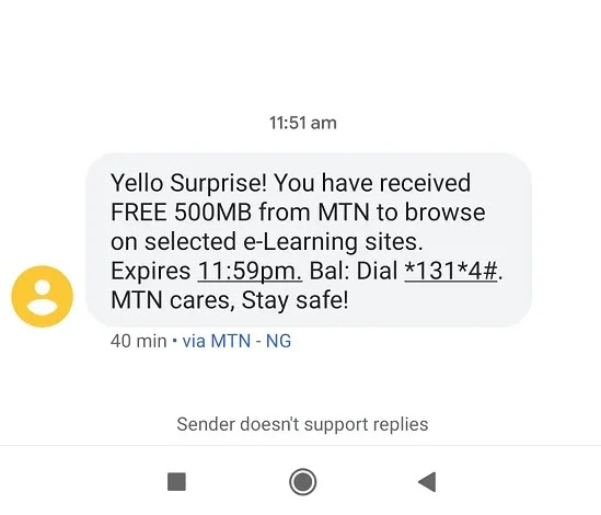 See How to Get 500MB Daily on MTN Network