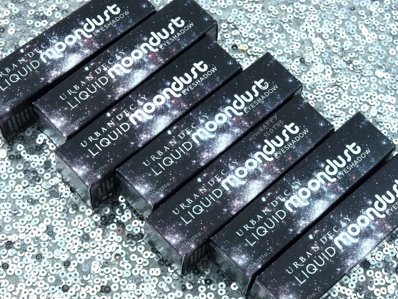 Urban Decay Liquid Moondust Eyeshadow Review and Swatches