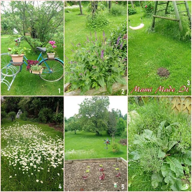 Garten im Mai - Garden in May