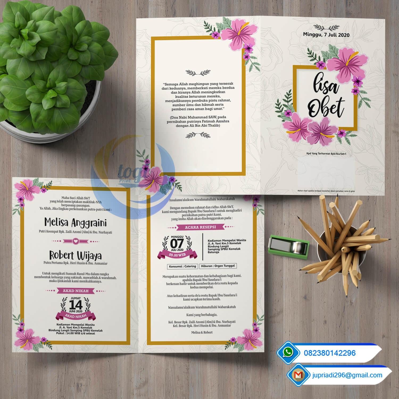 Download Desain Undangan Pernikahan Cdr
