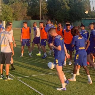Εικόνες από την προπόνηση -  APOELFC
