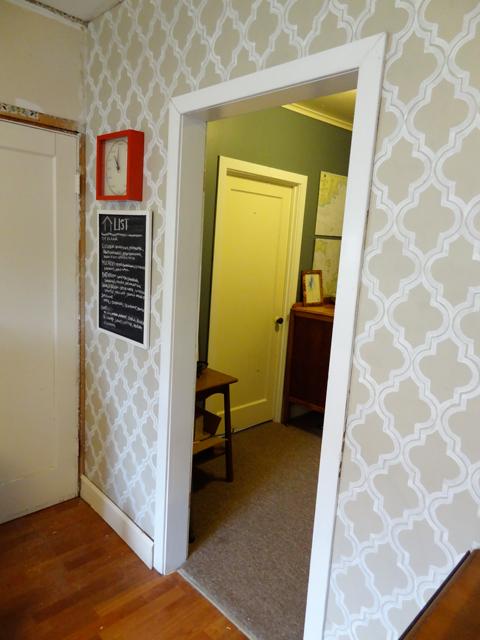 easy kitchen remodel cabinets light wood door trim...finally! | revamp homegoods