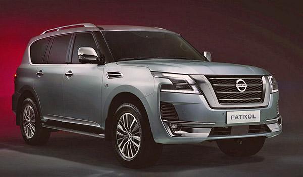 Burlappcar: 2020 Nissan Patrol/2021 Nissan Armada