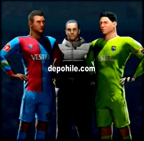 DLS 20 Trabzonspor Logo ve Forma Yapımı Güncel Png İndir