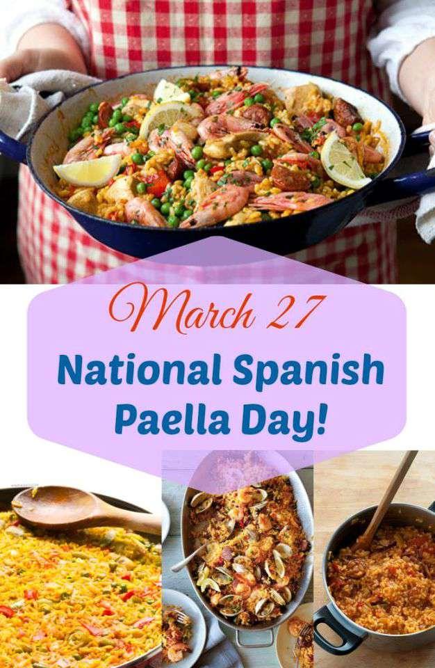 National Spanish Paella Day Wishes Photos
