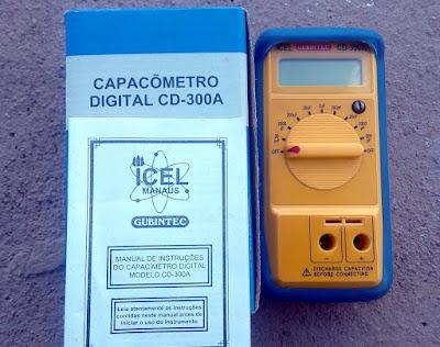 Capacímetro Icel CD-300A