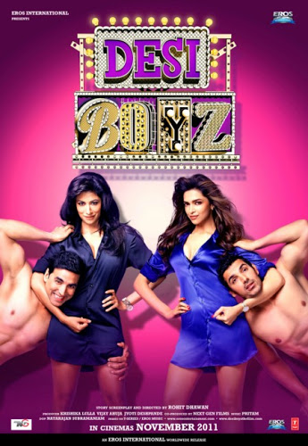 Poster of Desi Boyz 2011 720p Hindi BRRip Full Movie Download