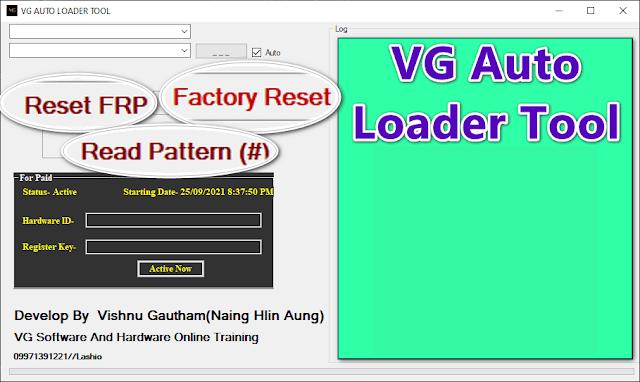 VG Auto Loader Unlock Tool Crack Version Free Download