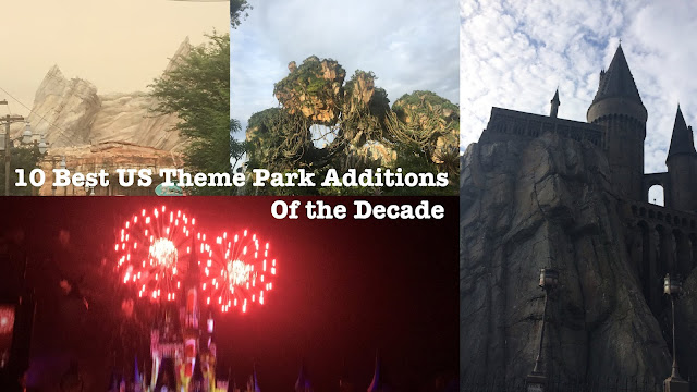 10 Best US Theme Park Additions of the Decade 2010s