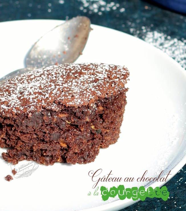 gateau chocolat courgette sans beurre