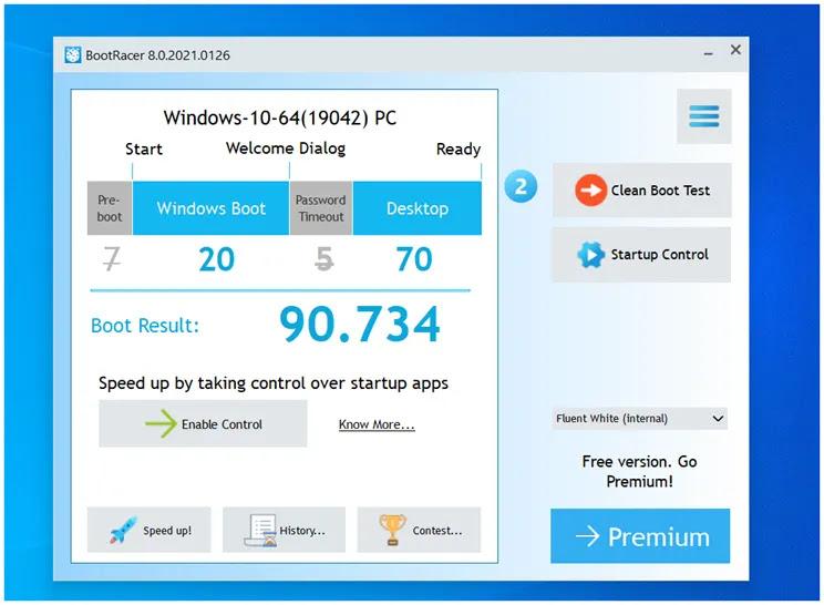 BootRacer : Βρείτε ποια προγράμματα επιβραδύνουν τη  εκκίνηση  των Windows