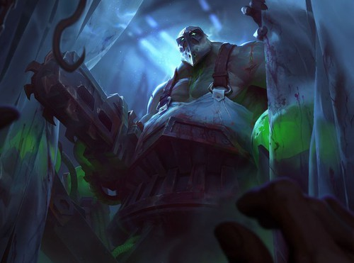 Các năng lực của Urgot đều phải có lực sát thương rộng.