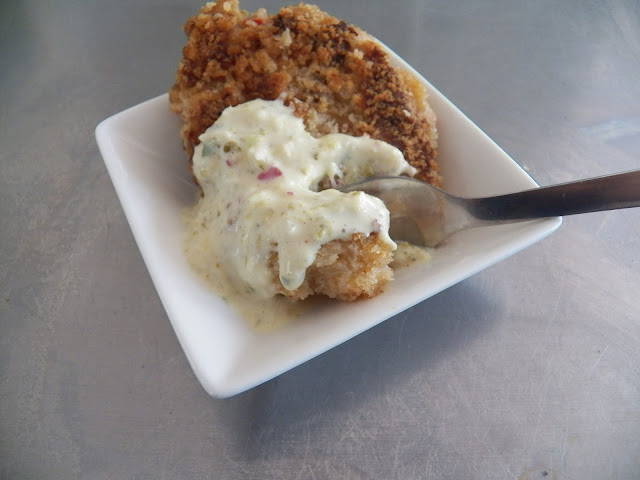 Sid's Lighthouse Crab Cakes with Danish style Remoulade Sauce