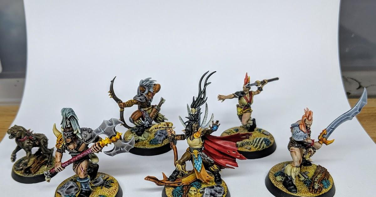 Warhammer Underworlds nighvault-godsworn Hunt jagathra-miniature