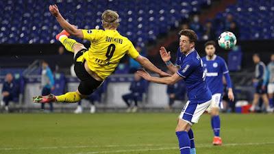 ملخص واهداف مباراة بوروسيا دورتموند وشالكه (4-0) الدوري الالماني