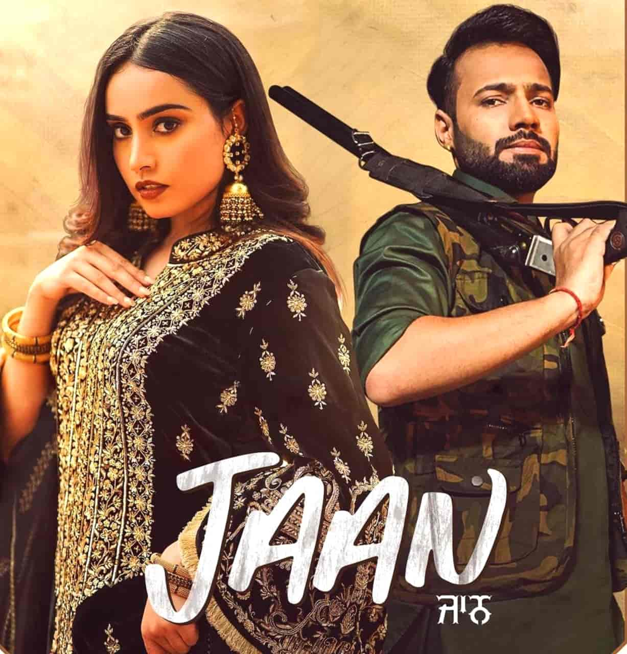 Jaan Punjabi Song Image Features Barbie Maan and Shree Brar