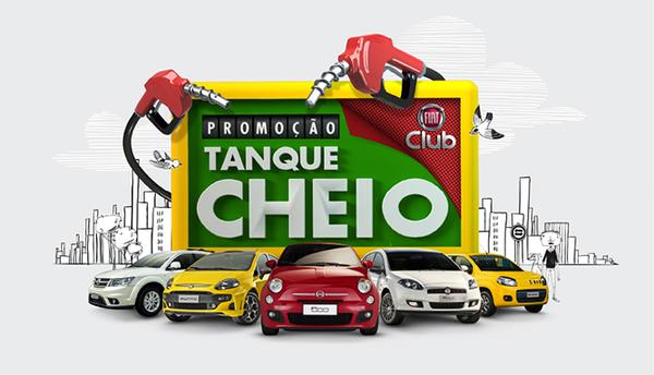 Fiat Club sorteia tanque cheio por um ano