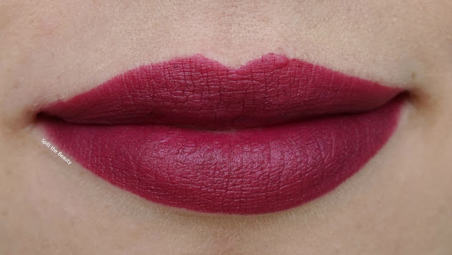 MAC it's a strike collection review swatches babes and balls lipstick