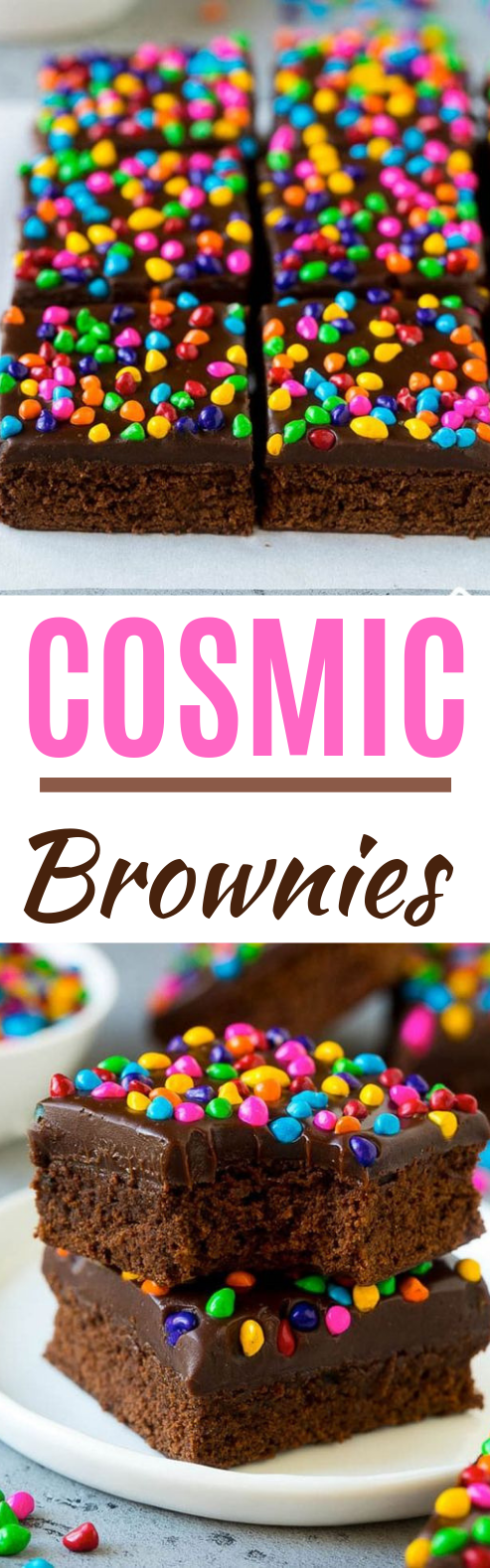 Cosmic Brownies #desserts #brownies