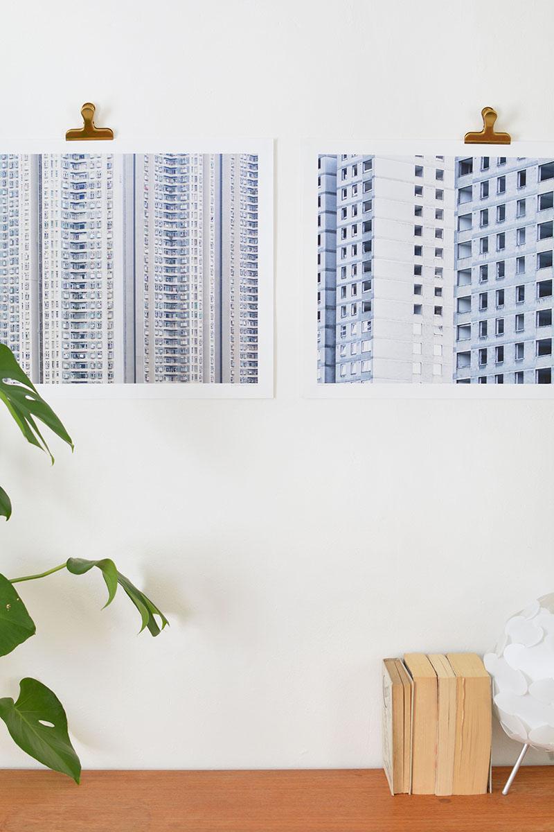cute ways to hang art without frames | BURKATRON