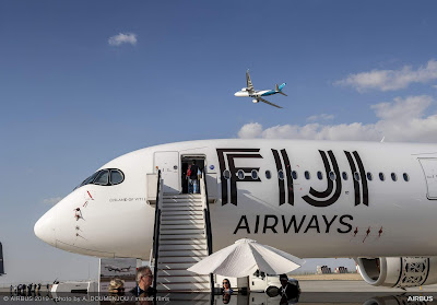 Airbus A350-900, DQ-FAI, Fiji Airways