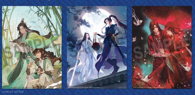 Tiga Novel MXTX Resmi Terbit dalam Bahasa Inggris