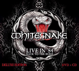 Whitesnake - 'Live in 1984 - Back to the Bone' CD Review (Frontiers Records)