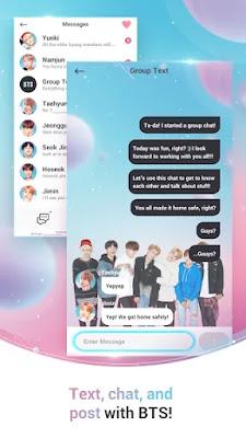 Screenshot BTS WORLD - Apcoid