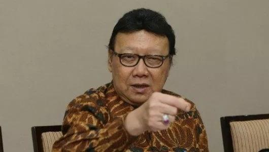"""Bantah Kesaksian Hairul, Tjahjo Tidak Yakin Moeldoko Ngomong """"Kecurangan Bagian Dari Demokrasi"""""""