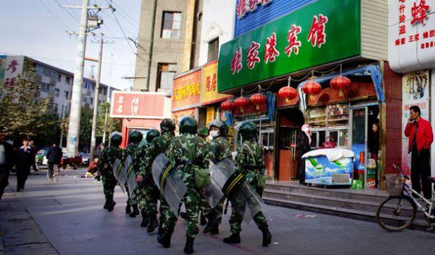 Pemerintah Cina Hapus Simbol-simbol Islam di Kota Yinchuan