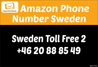 Amazon Helpline Number Sweden