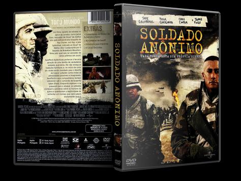 Capa DVD Soldado Anônimo (Oficial)