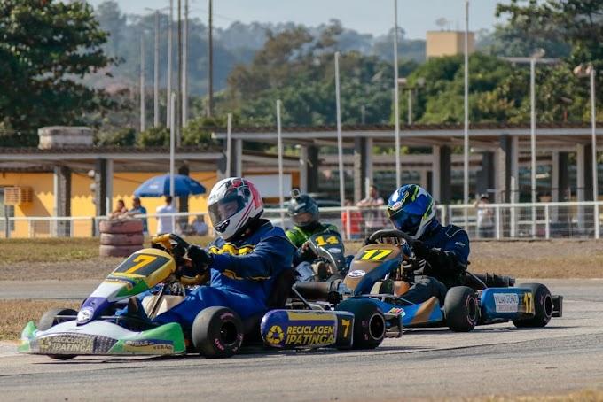 Copa Vale do Aço de Kart realiza última etapa no domingo