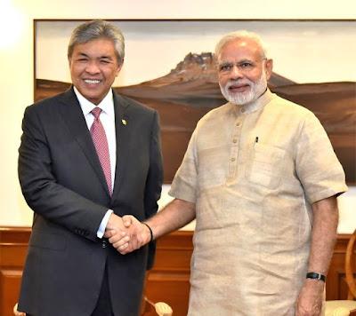 NewsTimes - Malaysian Deputy PM calls on Modi