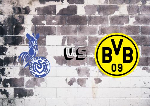 MSV Duisburg vs Borussia Dortmund  Resumen