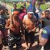 Indígenas da etnia Tembé, de Santa Luzia do Pará, interditam a BR-316 na manhã desta quinta-feira para protestar contra atos do governo federal