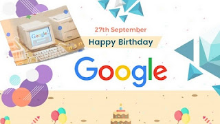 Google celebrates 21st birthday with a Doodle
