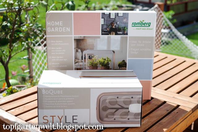 Kräutergarten für die Küche mit Beleuchtung | Gartenblog Topfgartenwelt