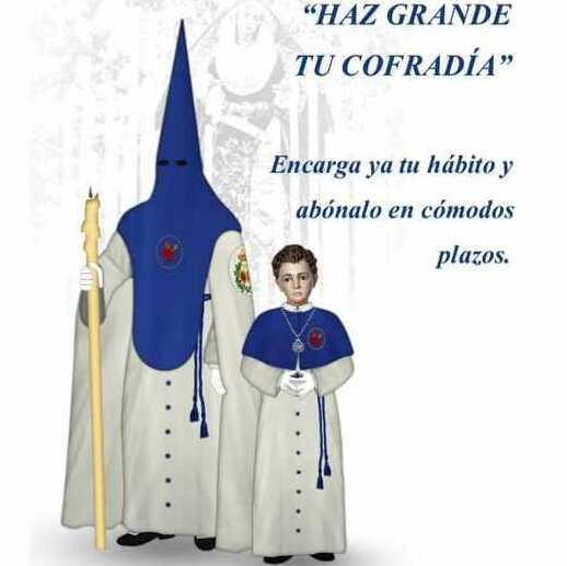 Así es la túnica de la Hermandad del Prado de Huelva