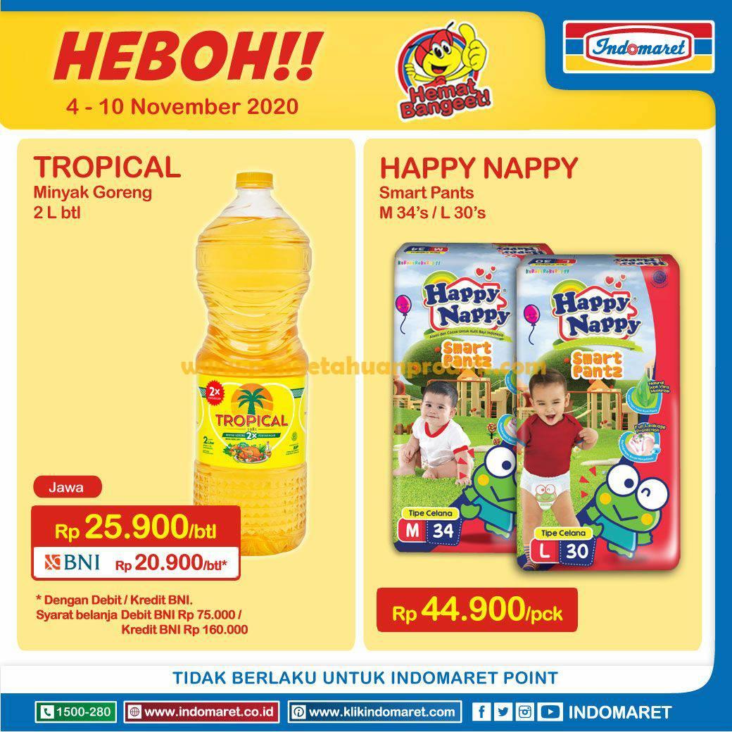 Promo Indomaret Heboh Product Of The Week 4 10 November 2020