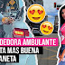 Vendedora ambulante Venezolana que roba miradas en las calles