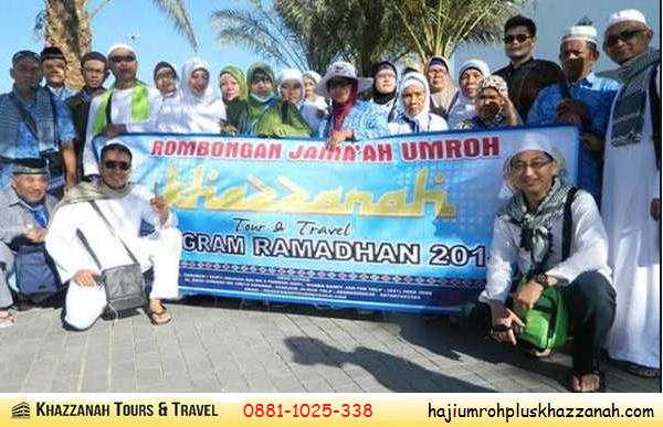 Jamaah umroh ramadhan Khazzanah Tour & Travel