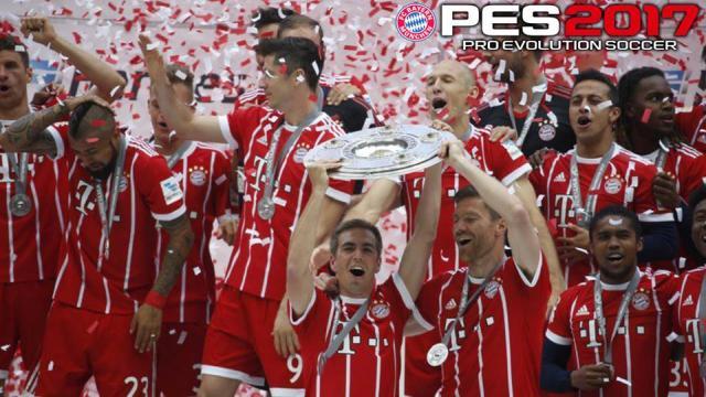 Bayern Munchen Start Screen PES 2017