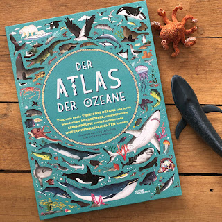 """""""Der Atlas der Ozeane"""" von Lucy Letherland, Kleine Gestalten Verlag"""