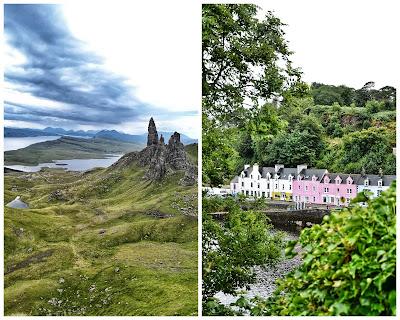 Île de Skye: The storr et Portree