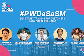 SM Cares holds nationwide PWD sensitivity training, promotes social inclusion in malls