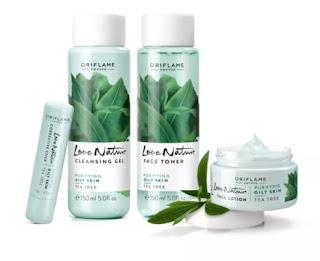 Oriflame Love Nature Cleansing Gel Tea Tree